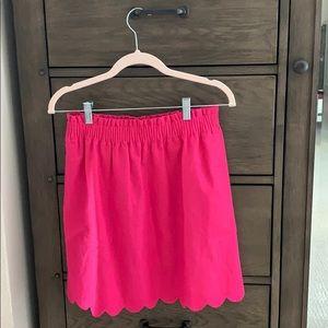 J.Crew Scalloped Skirt